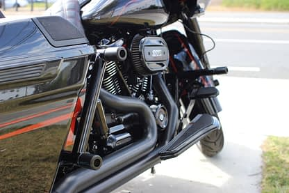 rear bagger crash bar