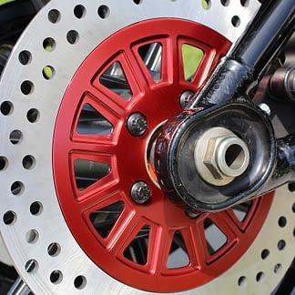 softail brake rotor