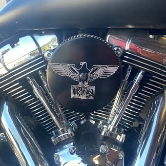 Dyna air cleaner cover