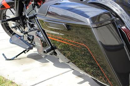 bagger rear crash bar