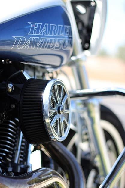 dyna lowrider air cleaner cover