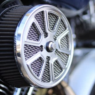 Lowrider air cleaner cover