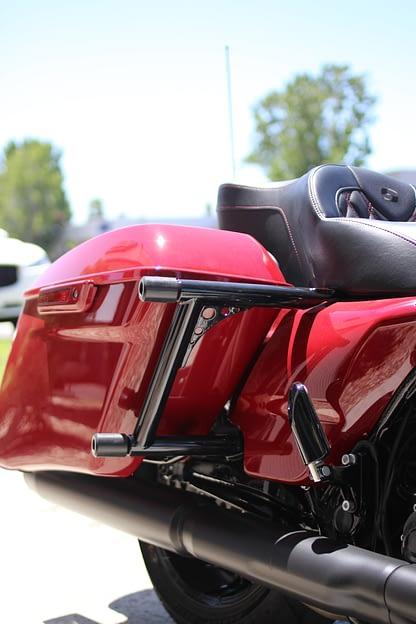 imzz elite bagger rear crash bar