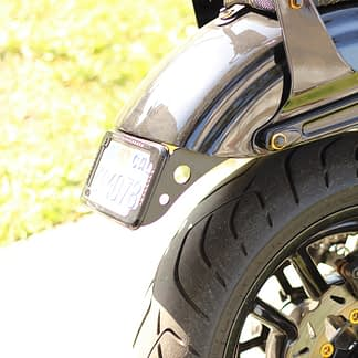 cycle visions dyna plate mount