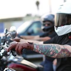 thrashin supply leather glove