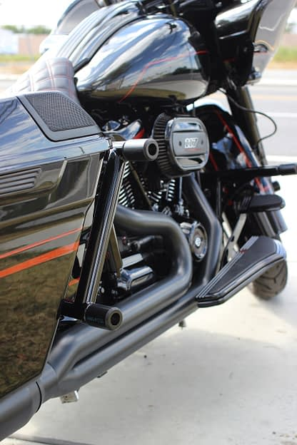 rear bagger crash bar
